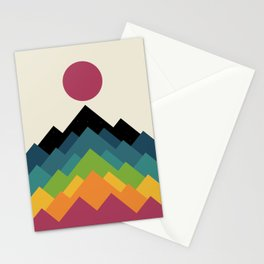 Life Is A Mountain Stationery Cards