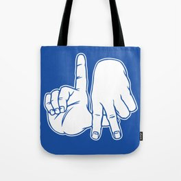 LA Fingers - Dodger Blue Tote Bag