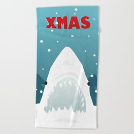 You're Gonna Need a Bigger Snowman Beach Towel
