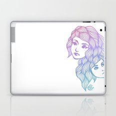Two Heads are Better Than One Laptop & iPad Skin