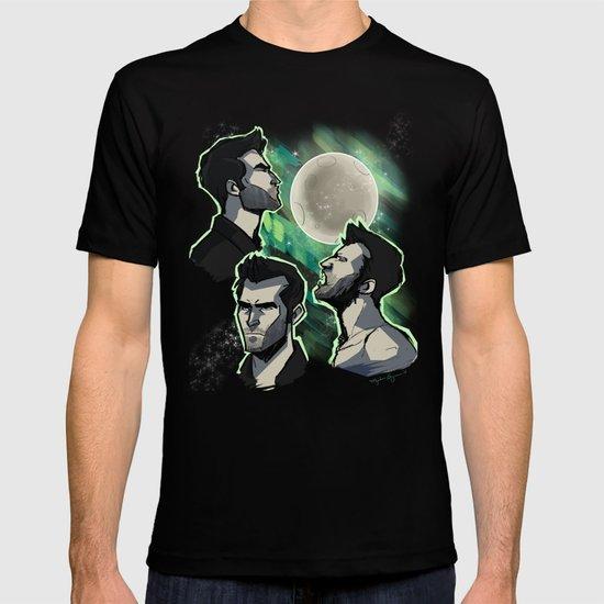 Three Derek Moon T-shirt