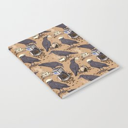 Corvids & Coffee Notebook