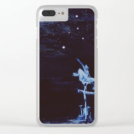 Reaching for Stars Clear iPhone Case
