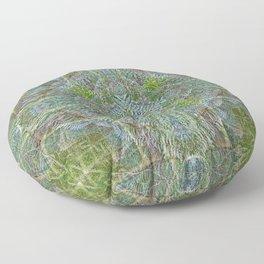 YOUNG RAINFOREST MAPLES Floor Pillow