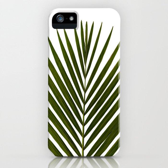 Bamboo - Tropical Botanical Print iPhone Case