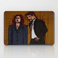 mulder iPad Cases featuring there's something out there, mulder by Melvin Pena