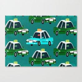 Lantau Taxi Canvas Print