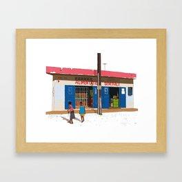 Alimentation Generale Framed Art Print