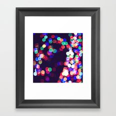 most wonderful time of the year Framed Art Print