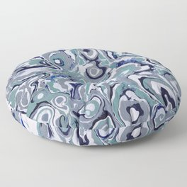 Oysters abstract Floor Pillow