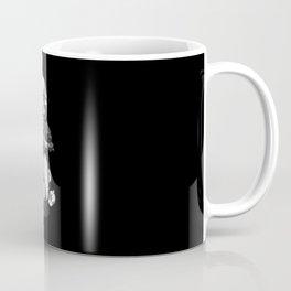 the skeleton ride motorcycle Coffee Mug