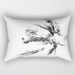 Palm Tree Sketch Rectangular Pillow