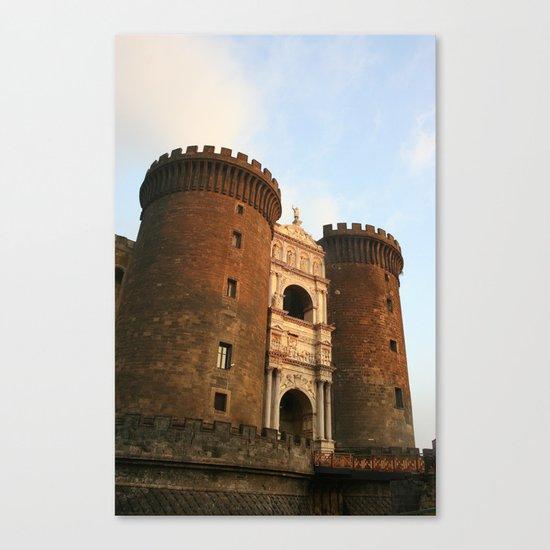 Naples Castle Canvas Print