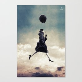 Walking on clouds ... Canvas Print