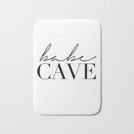 babe cave Bath Mat