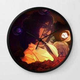 Rihanna as Japanese Deity Triptych (Susanoo) Wall Clock