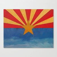 arizona Canvas Prints featuring Arizona by Michael Creese