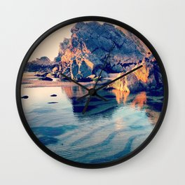 Crystal Clear, Beautiful Air Wall Clock