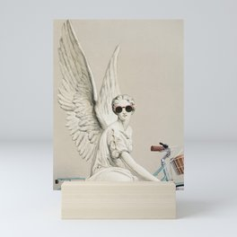 Hello world Mini Art Print