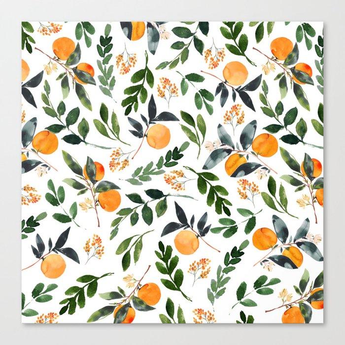 Orange Grove Leinwanddruck