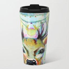 Deer Heart Metal Travel Mug