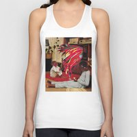 tv Tank Tops featuring Television by Lerson