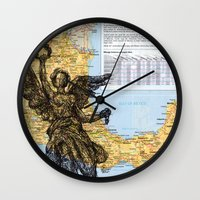 mexico Wall Clocks featuring Mexico  by Ursula Rodgers