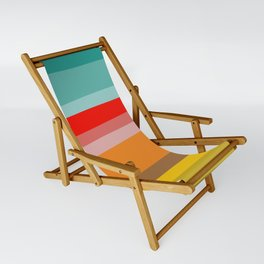 Color Stripes Sling Chair
