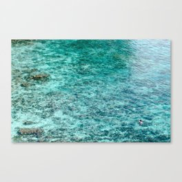 Floating Figures Canvas Print