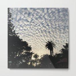 Stanyan Clouds Metal Print