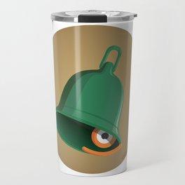 bell clapper glance Travel Mug