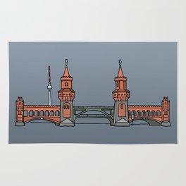 Oberbaum Bridge in Berlin Rug