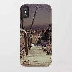 Walking The Murky Waters iPhone X Slim Case