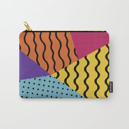 Wacky Geo Wave Carry-All Pouch