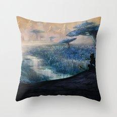 Plavim Forest Throw Pillow