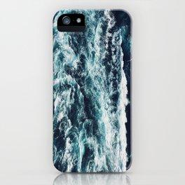 DARK BLUE OCEAN iPhone Case