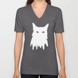 Cat Mask Unisex V-Neck