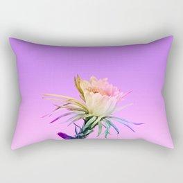 Purple Cactus Rectangular Pillow
