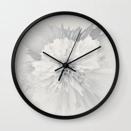 Delicate Detonation Wall Clock