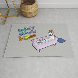 The Bath Guys - Splish! Splash! Bathman Rug