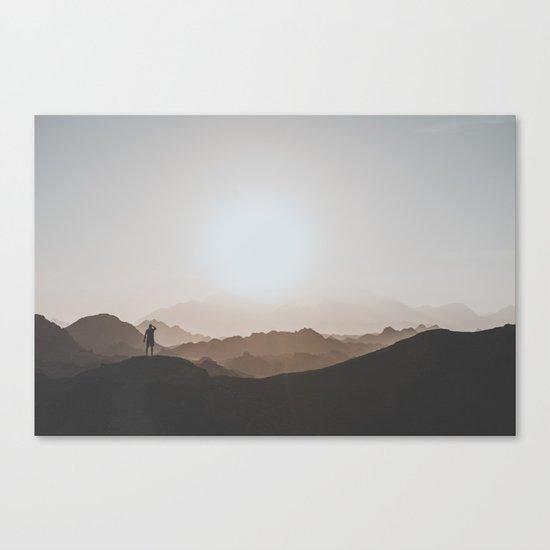 Desert of Egypt I Canvas Print