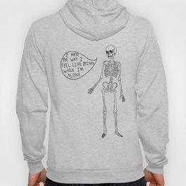 Joyce Manor Skeleton Hoody