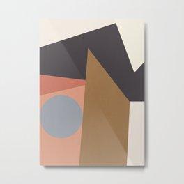 Minimal Geometric 31 Metal Print