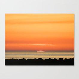 Scottish Sunset Canvas Print