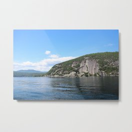 Summer's End: Roger's Rock on Lake George Metal Print