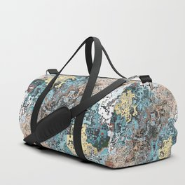 Colorful Abstract Chaos Duffle Bag