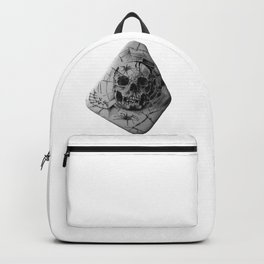 Skull Habitat for Spiders by annmariescreations Backpack