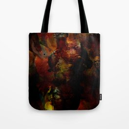 The last hour of Pompei Tote Bag