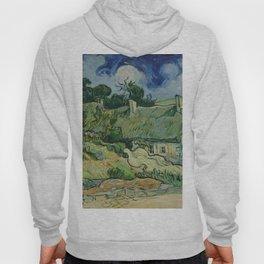 "Vincent van Gogh ""Thatched Cottages at Cordeville"" Hoody"