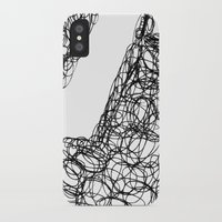 the wire iPhone & iPod Cases featuring Wire Child by Peerro